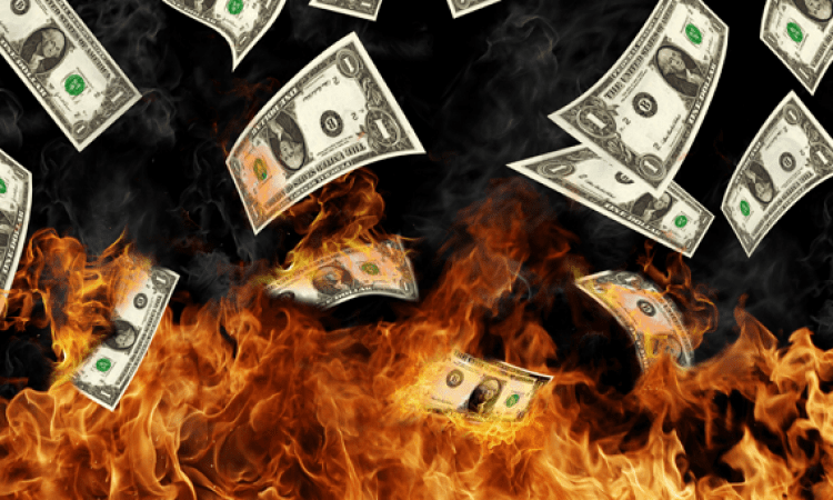 Better set your money on fire - NO reckless trading!